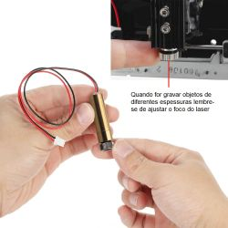 Laser De Reposição Gravadora Impressora Neje, Kmonn 1500mw