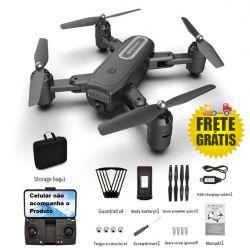 Drone com câmera 4K estabilizada, GPS, função siga-me