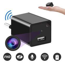 Mini-câmera Espiã de Tomada, Carregador Usb, WIFI