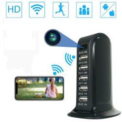 Carregador USB de mesa com Câmera Espià WIFI
