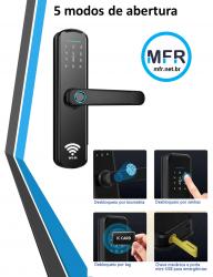 Fechadura Biométrica WIFI Digital S807